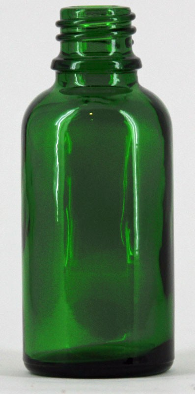 Green Dropper bottle (30ml) No Cap