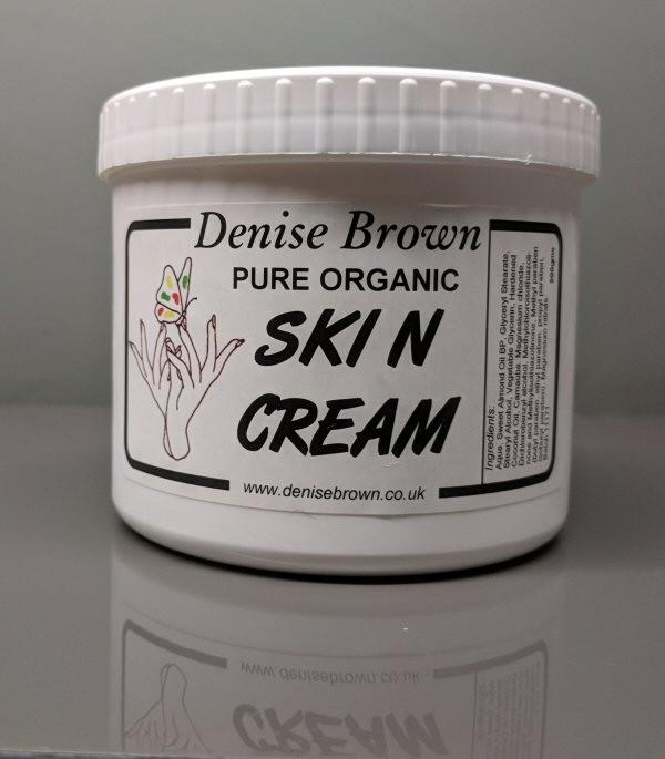 Organic Skin Cream  (500gms)