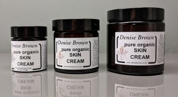 Organic Skin Cream  (120gms)