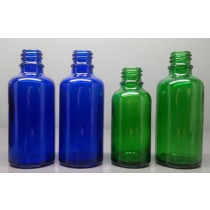 Coloured Glass Dropper Bottles