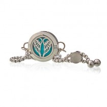 Aromatherapy Diffuser Bracelet- Angel Wings 20mm