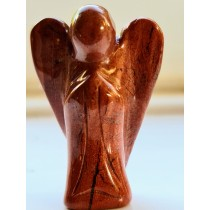 Jasper - Red Gemstone Angel