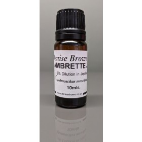 Ambrette Seed Dilution  (10mls) Essential Oil