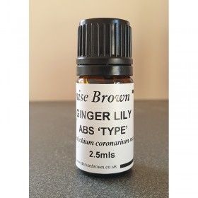 Ginger Lily Absolute 'TYPE'  (2.5mls) Essential Oil